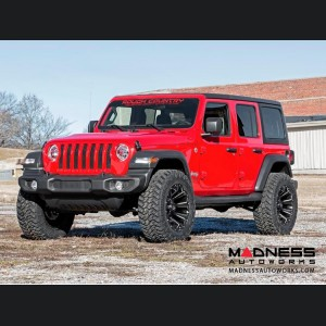 """Jeep Wrangler JL Rubicon Suspension Lift Kit w/Lifted Coil Springs - 2.5"""" Lift"""
